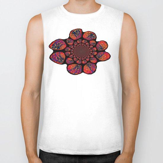 FLOWER Biker Tank