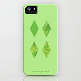 Simulation 1-4 iPhone Case