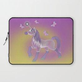 Lilac Unicorn .. fantasy art Laptop Sleeve