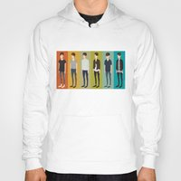 tegan and sara Hoodies featuring Tegan and Sara: Sara collection by Cas.