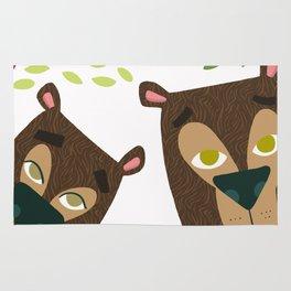 The Three Bears Rug