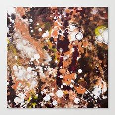 Tabby Cat Orange & Dark Chocolate Brown [Kate Jones] Canvas Print