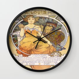 Vintage poster - Exposition Universelle & Internationale de St. Louis Wall Clock