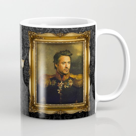 Robert Downey Jr. - replaceface Coffee Mug