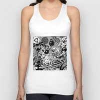 chaos Tank Tops featuring Chaos by Cs025