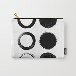 Life is Full of Circles Carry-All Pouch