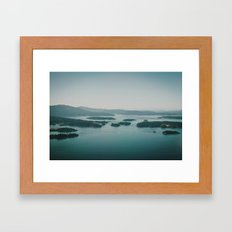 Gulf Islands Framed Art Print
