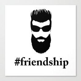 #friendship Canvas Print