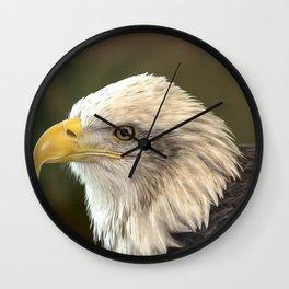 Columbia - Bald Eagle Wall Clock