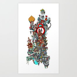 MOTHER BOARD Art Print
