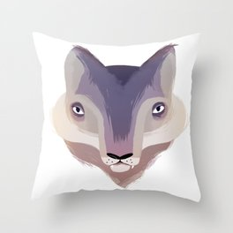 Hungry like... Throw Pillow