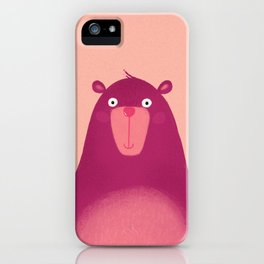Dancing Bear iPhone Case