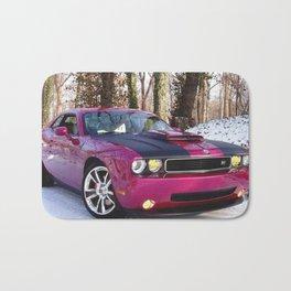 Fuchsia Panther Pink Limited Edition Hurst Challenger RT Bath Mat