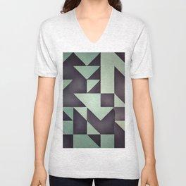 :: geometric maze VIII :: Unisex V-Neck