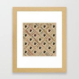 Bullmastiff Word Art Framed Art Print