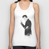 moriarty Tank Tops featuring Moriarty by daniel