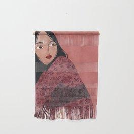 Transparent Kimono Wall Hanging