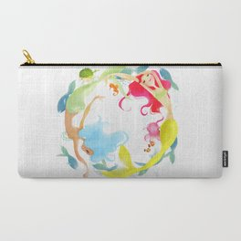 Mermaid Circle Carry-All Pouch