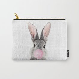 Bunny With Bubble Gum Carry-All Pouch