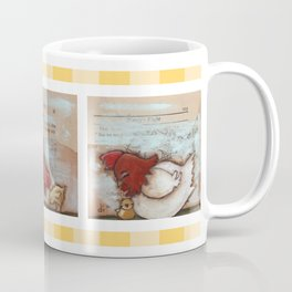 You Are So Loved Chickens - by Diane Duda Coffee Mug