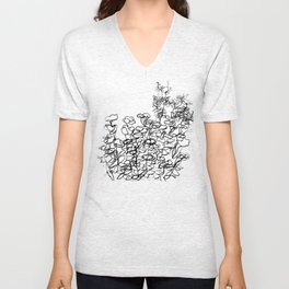 In The Courtyard Unisex V-Neck