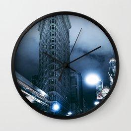 Flatiron Building Manhattan Wall Clock