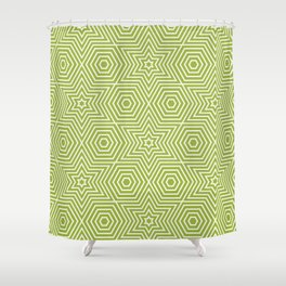 Op Art 21 Shower Curtain