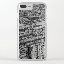 Ticky Tacky Clear iPhone Case