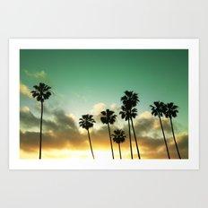 Palm Sunday Art Print