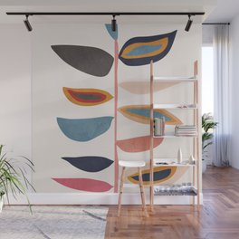 Abstract Plant Wall Mural