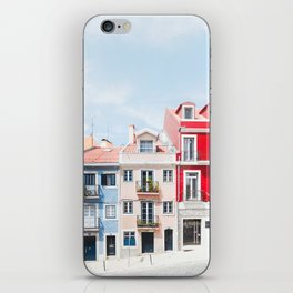 Colorful Buildings iPhone Skin