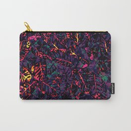 Flora Celeste Purple Amethyst Carry-All Pouch