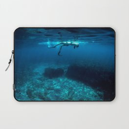 St Tropez Sea Two Laptop Sleeve