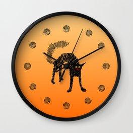 Black Cat 01 Wall Clock