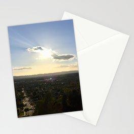 Suburban Sky Stationery Cards