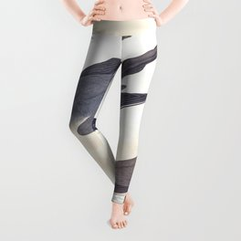 Arctic Yager Bird Leggings