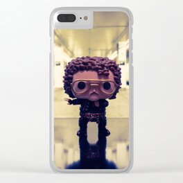 """""""Your butt is wide, well mine is too...Because I'm fat, I'm fat, sha mone!"""" Clear iPhone Case"""