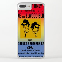 Mission From God Blues Brothers Clear iPhone Case