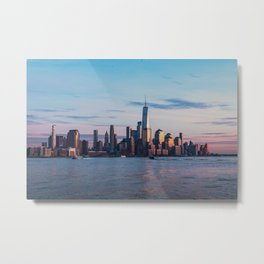 New York City Skyline Photography Metal Print