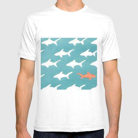 Splashy Sharks T-shirt