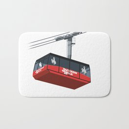 Jackson Hole Cable Car Bath Mat