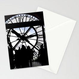 El reloj de Orsay Stationery Cards