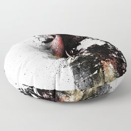 Scorched Earth Floor Pillow