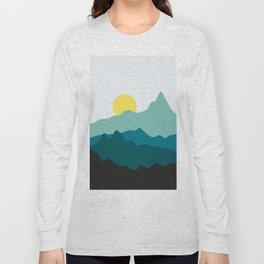 Minimalist landscape VII Long Sleeve T-shirt