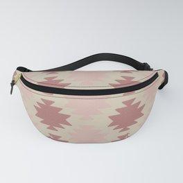 Southwestern Pattern Pink Fanny Pack