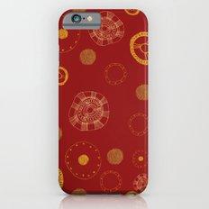 Arc Reactor Polka Dots iPhone 6s Slim Case