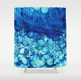 Under The Waves Shower Curtain