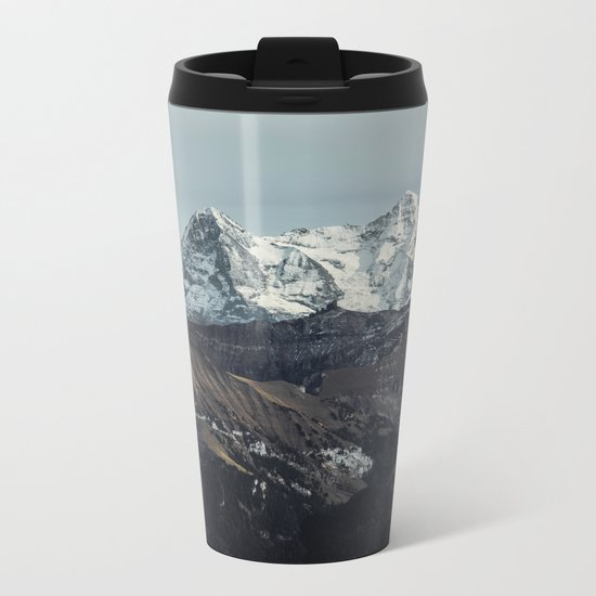 Mountain Mood II Metal Travel Mug