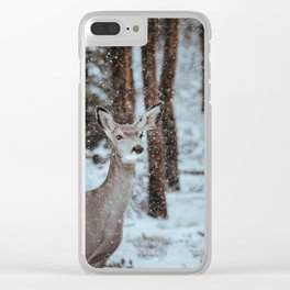 Finding Forest Friends Clear iPhone Case