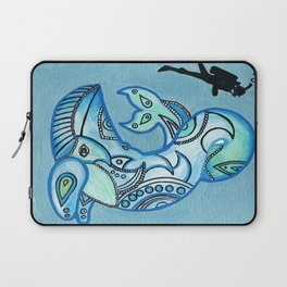 Whale Watchin' Laptop Sleeve